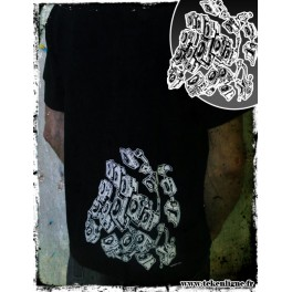 T-shirt BLACKQIREX DOG [Black]