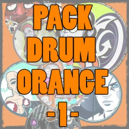 Pack DRUM ORANGE 1