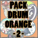 Pack DRUM ORANGE