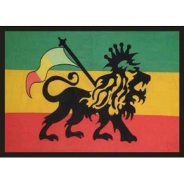 Tenture Rasta new lion